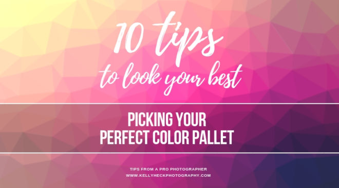 How To Look Your Best In Portraits: Picking Your Perfect Color Pallet
