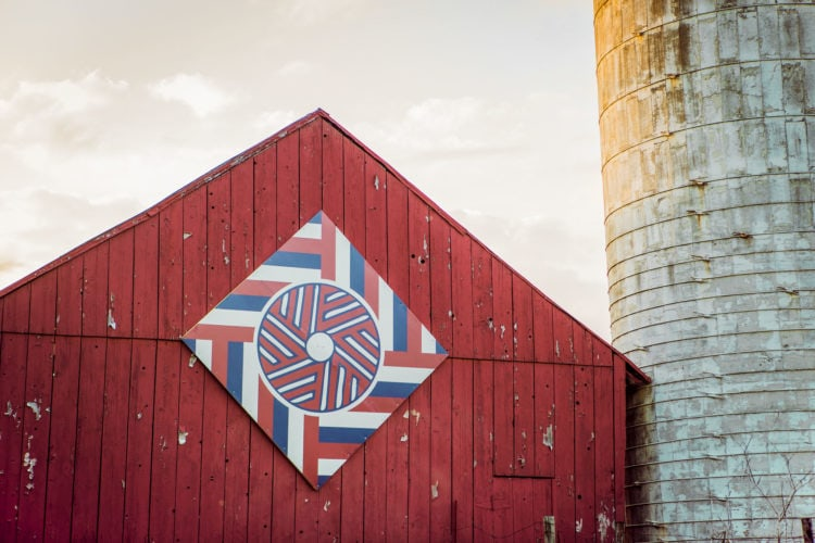 Carroll County Maryland Barn Quilts in Westminster, MD by Kelly Heck Photography