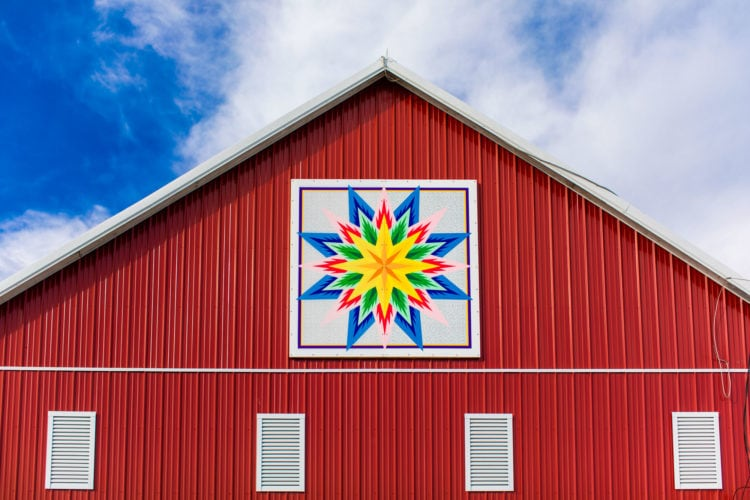 Barn Quilt Trail in Carroll County Maryland | Photos by Kelly Heck photography | Carroll County Tourism