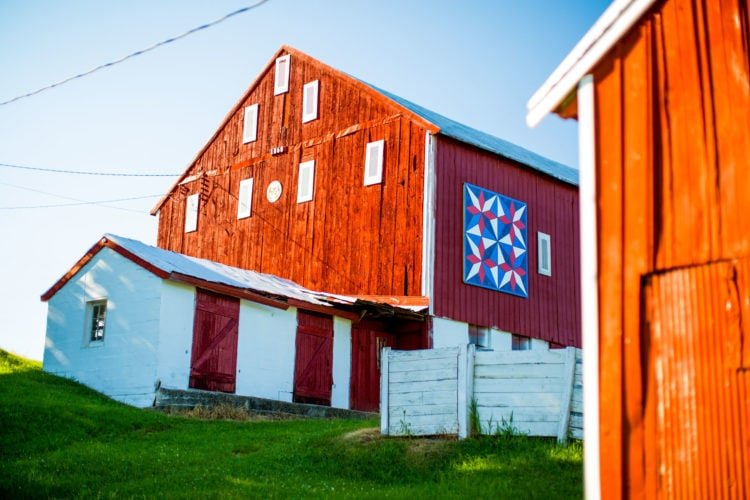Carroll County Maryland Barn Quilts | Photography by Kelly Heck