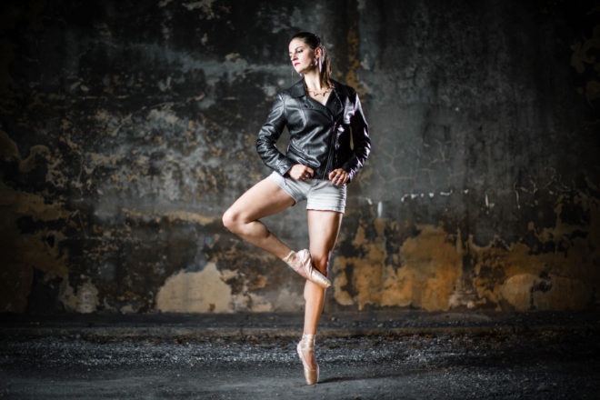 Dancer Portrait Taneytown Maryland Kelly Heck Photography