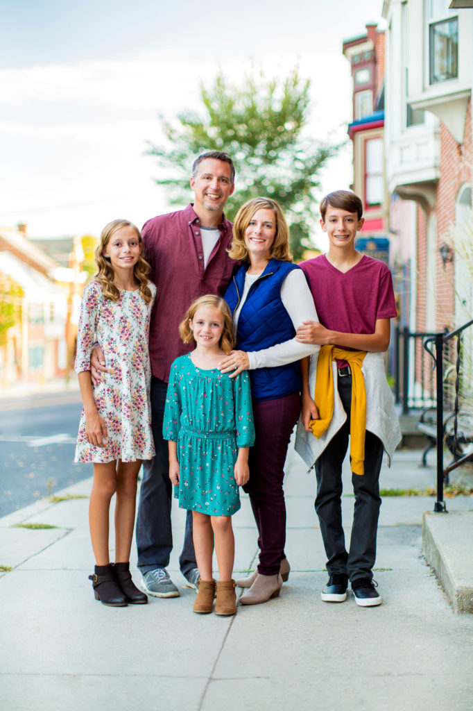 Family Portraits in Gettysburg Pennsylvania Kelly Heck Photography
