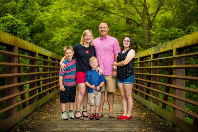 Family Portraits Wakefield Valley Trail in Westminster Maryland Kelly Heck Photography