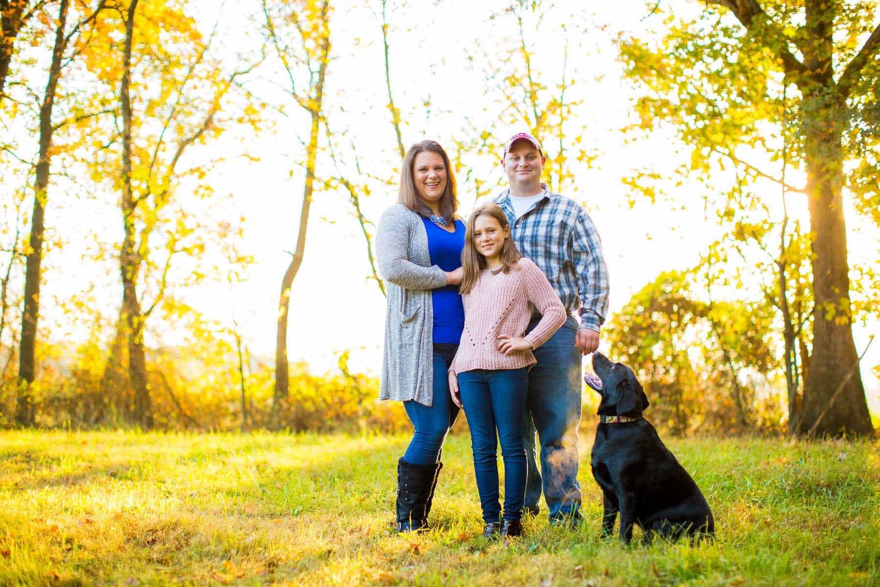Family Portraits on the Farm in Taneytown Maryland Kelly Heck Photography