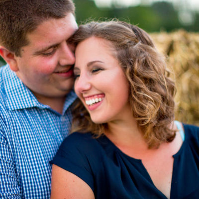 Victoria & Trevor Hoff Engagement Portraits at Local Homestead Products New Windsor Maryland Kelly Heck Photography