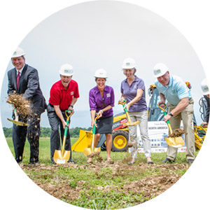 Fuchs North America Spice Company in Hampstead, Maryland Groundbreaking Event Photos