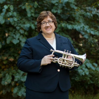 Elisa Koehler - Trumpeter & Conductor | Professor of Music & Assistant Director of the Center for Dance, Music, & Theatre at Goucher College in Baltimore, Maryland | Kelly Heck Photography