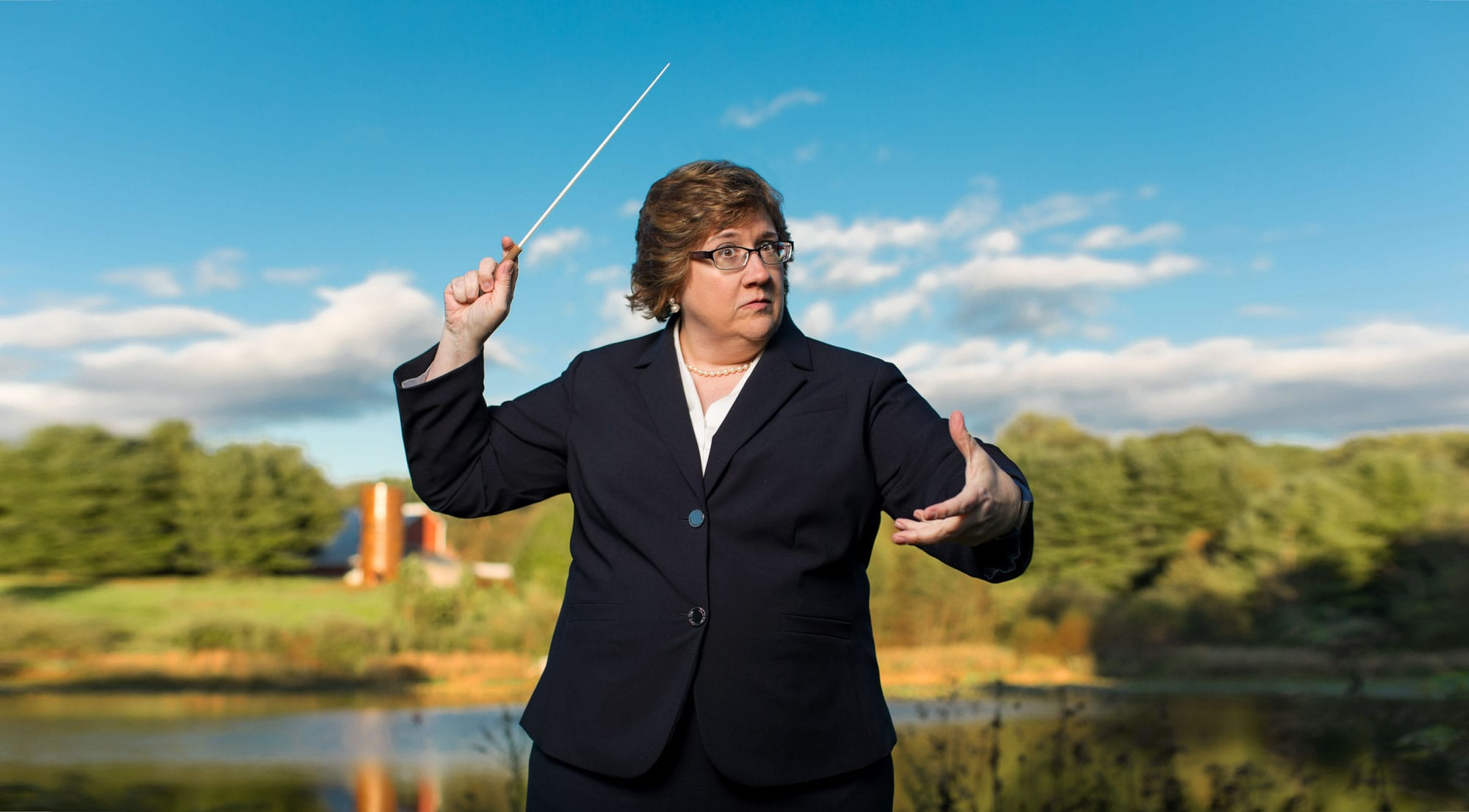 Elisa Koehler - Professional Trumpeter & Conductor | Professor of Music and Assistant Director of the Center for Dance, Music, and Theatre at Goucher College in Baltimore, Maryland