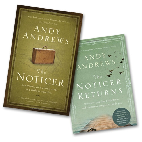 Then Noticer & The Noticer Returns, by Andy Andrews