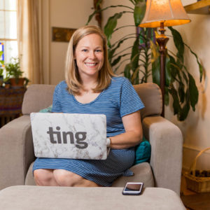 TING Customer Stories | Westminster, Maryland | Portrait by Kelly Heck Photography