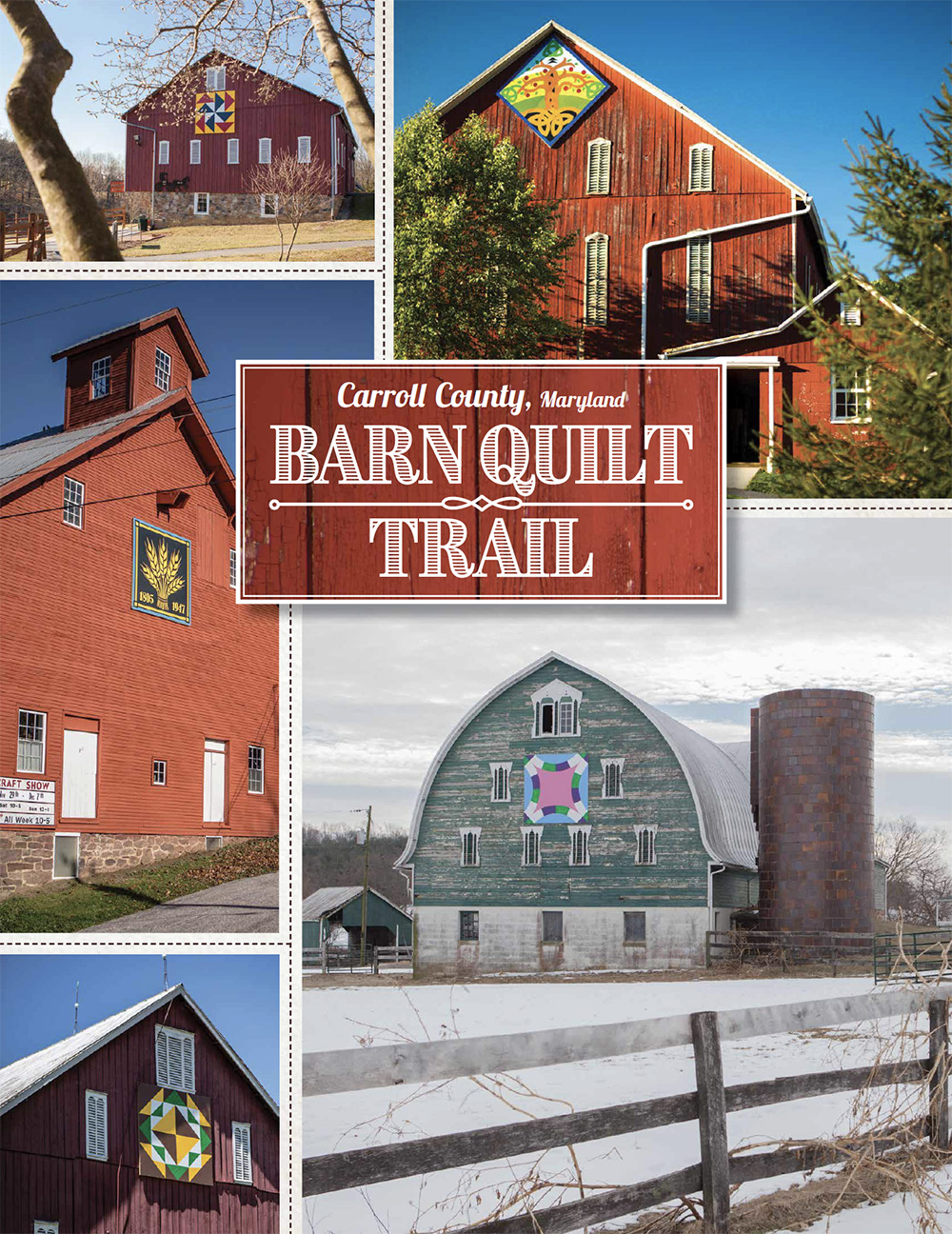 2019 Carroll County Barn Quilt Trail featuring photos by Kelly Heck Photography