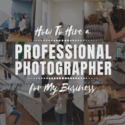 How To Hire a Professional Photographer for My Business: 7 Questions for a Successful Photo Shoot