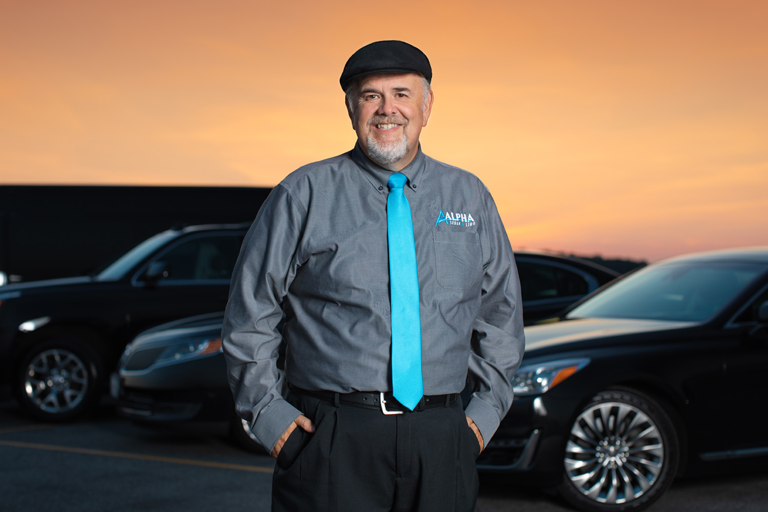 Jim Harris of Alpha Sedan & Limo | Portrait by Kelly Heck Photography