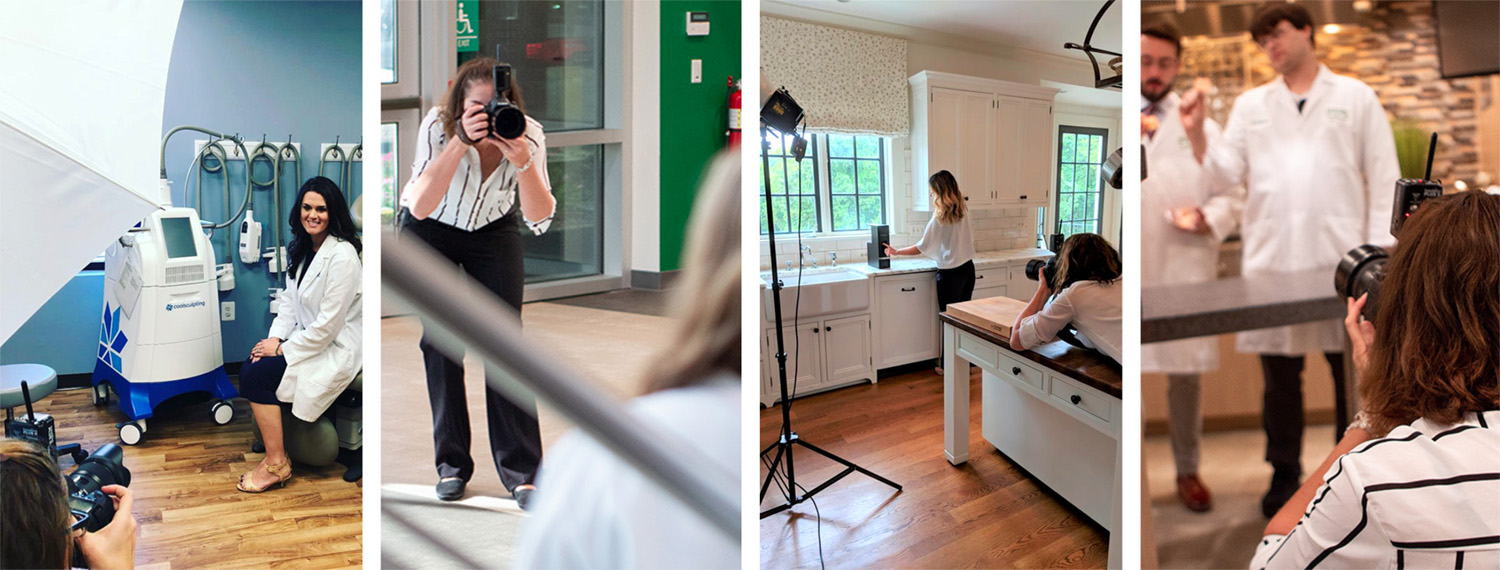 Behind-The-Scenes on a photo shoot with Kelly Heck Photography