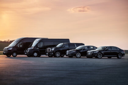 The Fleet of Alpha Sedan & Limousine of Central Maryland | Photos by Kelly Heck Photography