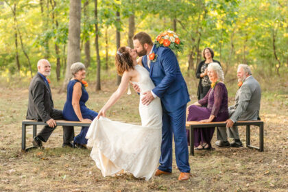 Kelly Heck Photographer and Adam Stultz Videographer get married in Taneytown, Maryland