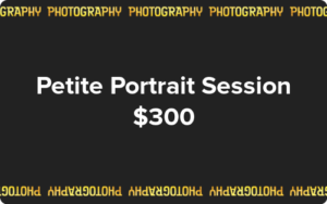 Gift Card - Petite Portrait Session with Kelly Heck Photography $300.00